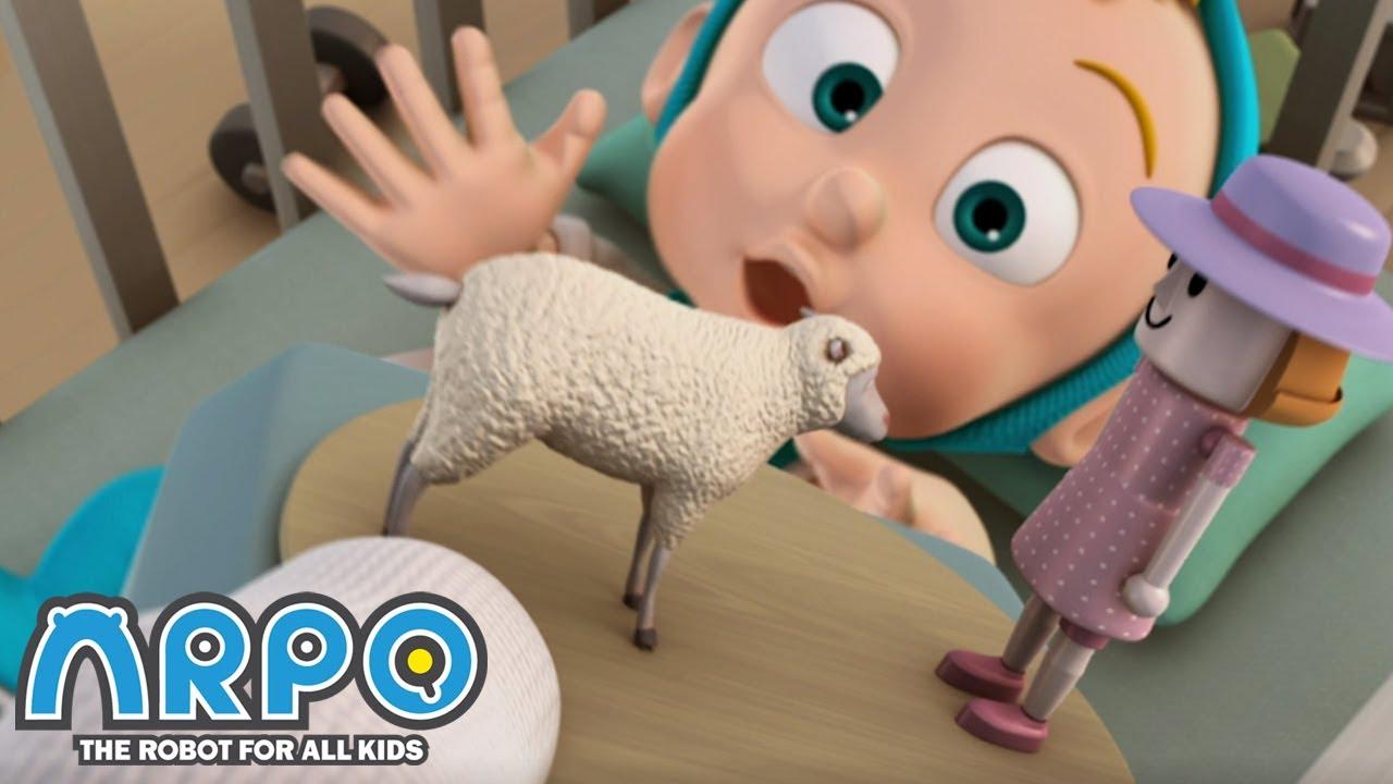 BABY NAPTIME | Cartoons for Kids | Full Episode | Arpo the Robot