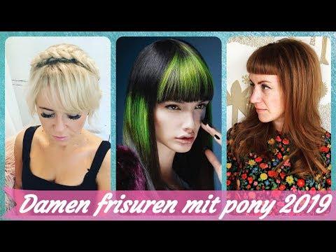 Die Fetzige 20 Ideen Zu Damen Frisuren Mit Pony 2019