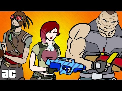 Borderlands ENTIRE Storyline of All Games in 3 Minutes! (Borderlands Animated Story)