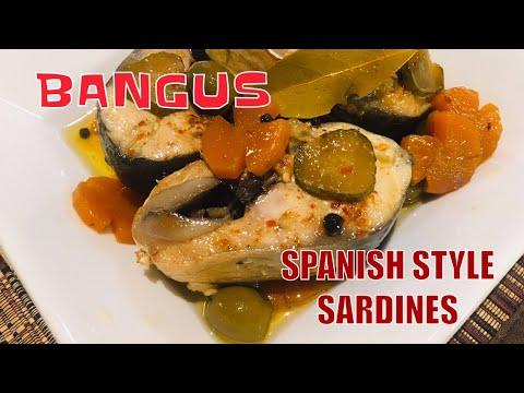 BANGUS SPANISH STYLE SARDINES