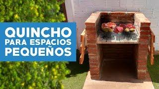 ¿Cómo construir un quincho para espacios pequeños?