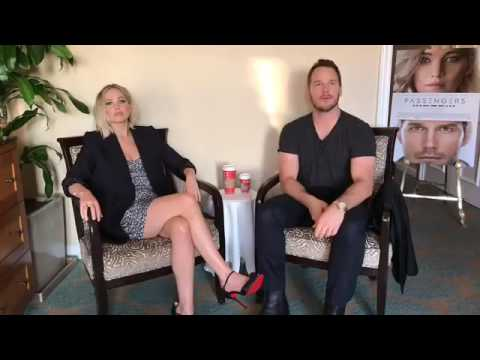 Jennifer Lawrence and Chris Pratt Passengers Facebook Q&A