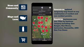 Concealed Carry Gun Tools App for Mobile Devices