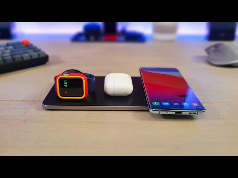 Wireless Charging Simplifed: Satechi Trio Wireless Charging Pad Review...