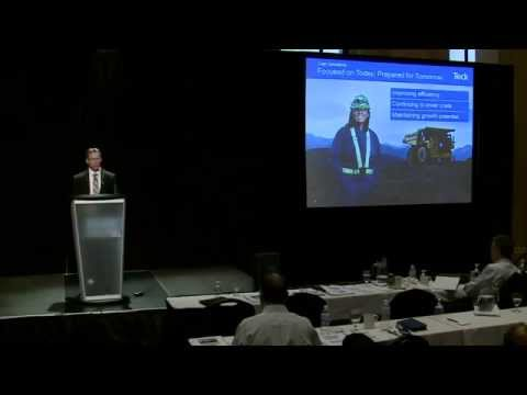 Teck Investor & Analyst Day (2015) – Coal  – Robin Sheremeta and Réal Foley