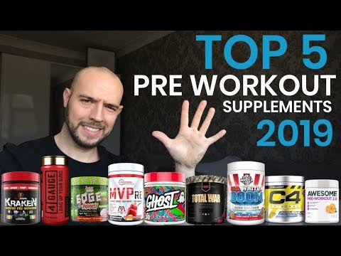 Top 5 PRE Workout Supplements 2019