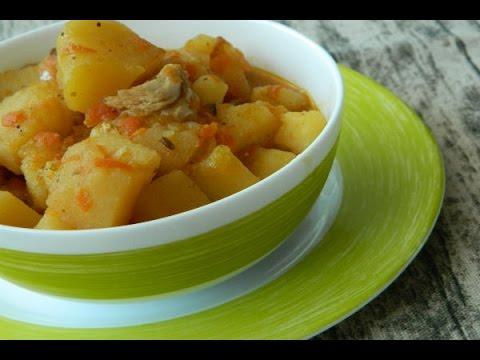 Жаркое из курицы с картошкой пошаговый рецепт 11