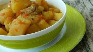 Как приготовить жаркое по домашнему из курицы с картошкой