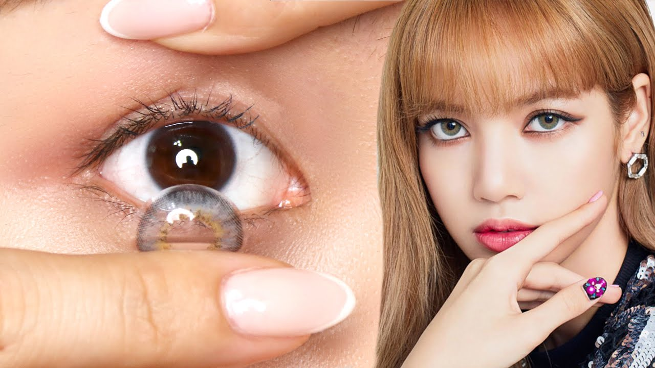 My Go To Korean Colored Contacts Tina Yong Youtube