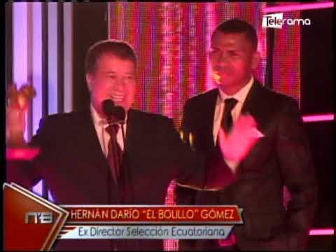 Homenajes a personajes destacados Premios Bichito del Fútbol