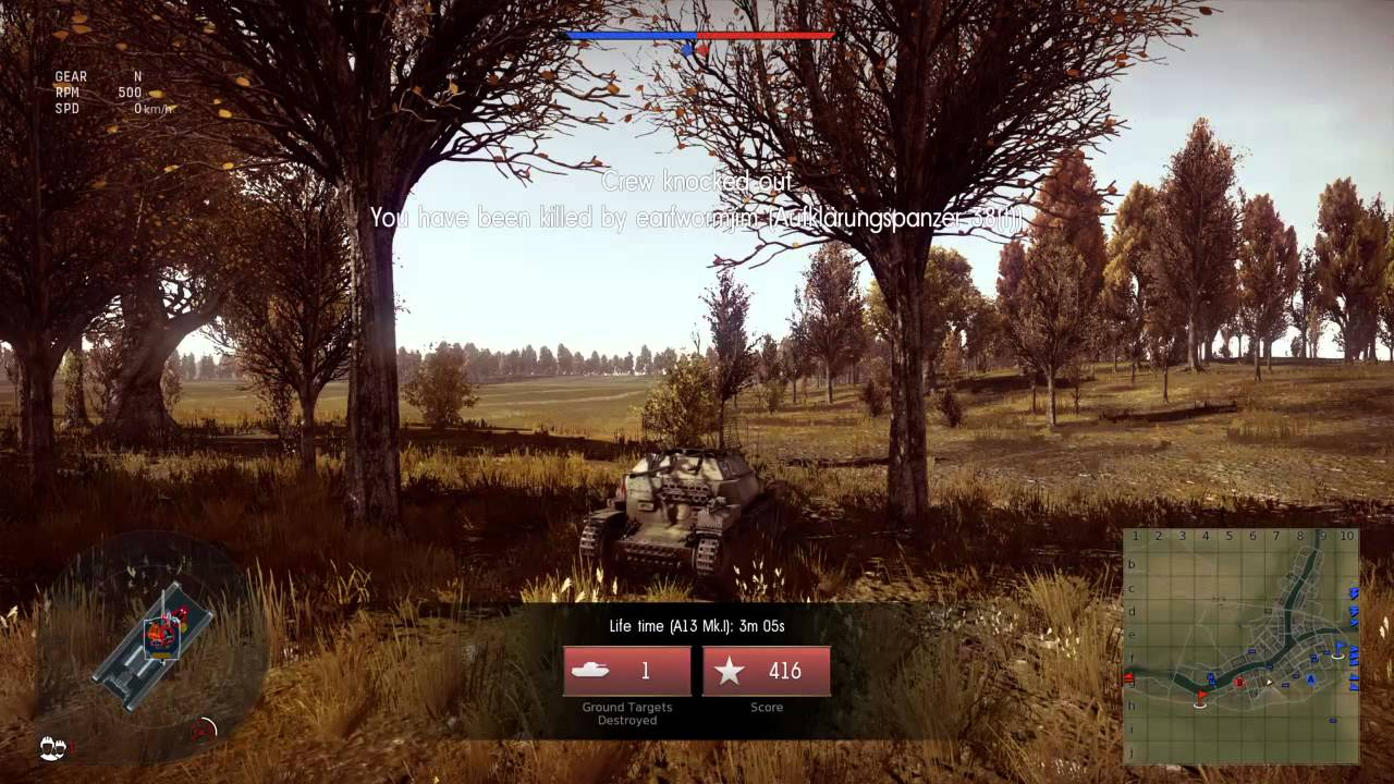 Playing War Thunder on the ps4 - YouTube