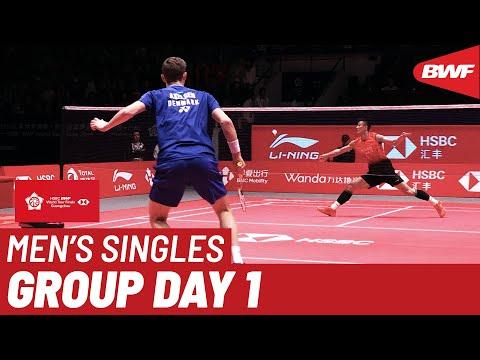 Group B   MS   CHEN Long (CHN) Vs. Viktor AXELSEN (DEN)   BWF 2019