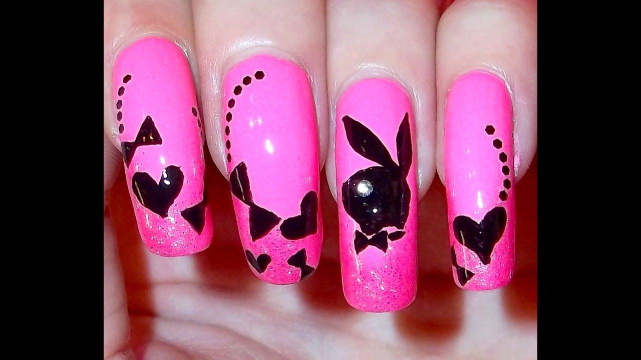 Playboy Bunny Nails Youtube