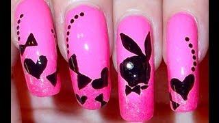 Playboy Bunny Nails