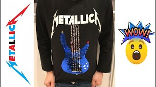 Metallica Reversible Sequin T-Shirt