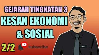 Bab 6 Pt 2 Sejarah Tingkatan 3 Kesan Pentadbiran Barat Terhadap Ekonomi Dan Sosial Youtube