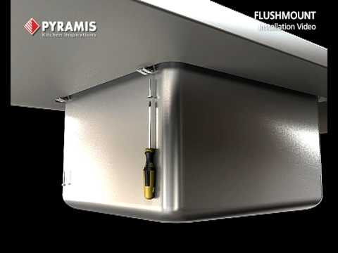 Pyramis Flushmount Sink Installation Video