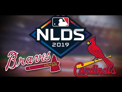Atlanta Braves Vs St. Louis Cardinals - NLDS Game 4 - Dugout Reaction Stream & Play By Play