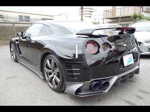【日産 GT-R DBA-R35 エアロパーツ取付・塗装】 東京都小平市からのご来店 ガレージローライド立川