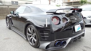 【日産 GT-R DBA-R35 エアロパーツ取付・塗装】 東京都小平市からのご来店 ガレージローライド立川 thumbnail