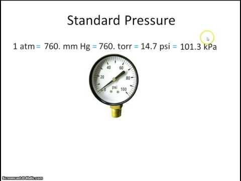 # 2 standard temperture and pressure STP