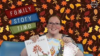 video thumbnail: Family Story Time - Fall Leaves!