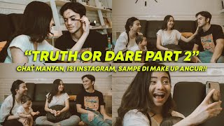 TRUTH OR DARE PART 2!! FT RIZKY DAN KAK RIZKINA NAZAR!!
