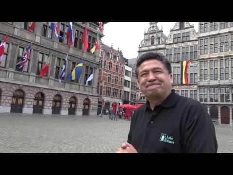 PERUANOS EN BELGICA : CORAZON EUROPEO
