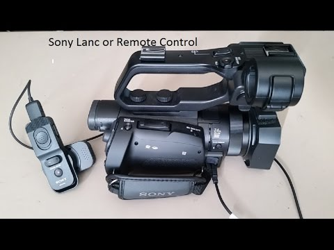 Sony Lanc or Remote control for PXW-X70 video camera