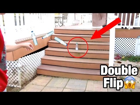 Thumbnail: MOST INSANE WATER BOTTLE FLIPS! *LITERALLY BEST EVER*