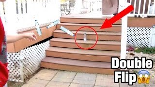 MOST INSANE WATER BOTTLE FLIPS! *LITERALLY BEST EVER*