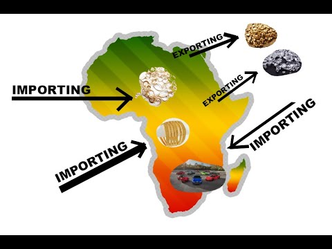 Why Africa We Export More Than 95% Raw Material And Import Below 5% Of Products.