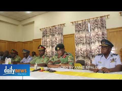 Zimbabwe Military Commander Warns the ruling party