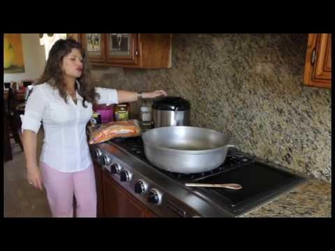Como cocinar un sabroso arroz youtube for Como cocinar 5 kilos de arroz