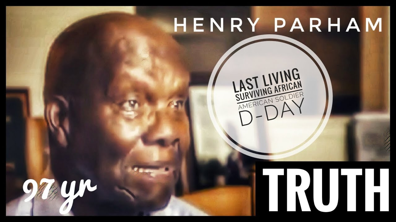Last Living  Surviving African American D-DAY Soldier