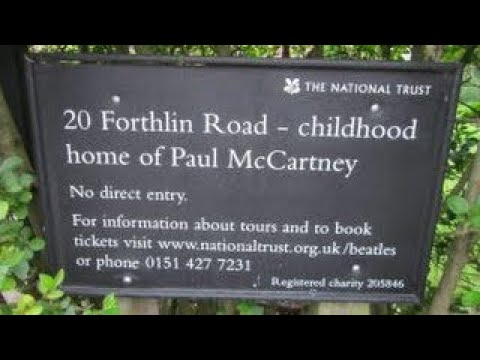 Paul McCartneys Childhood Home National Trust House (One Foot In The Past 1998)