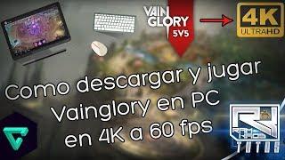 Como Descargar y Jugar Vainglory 5v5 En PC en 4k a 60 fps [Bien Explicado] [Español]