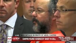 Ariel Castro did not die of auto erotic asphyxiation coroner says