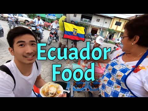 Street Food In Ecuador (1st Day)