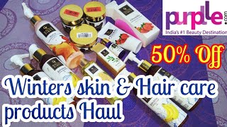 Winters skin and hair care products haul Good vibes products quick review