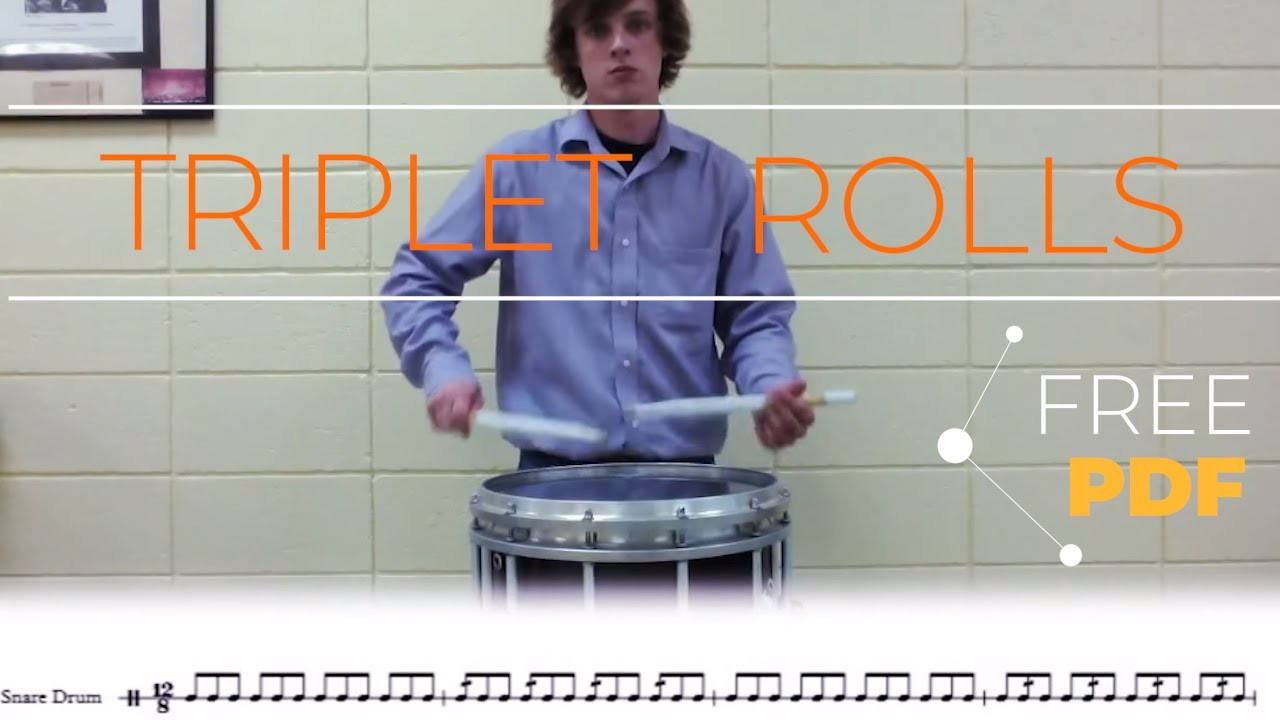 triplet rolls snare drum exercise youtube. Black Bedroom Furniture Sets. Home Design Ideas