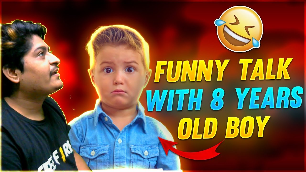 Funny Talk With 8 Yers Old boy    Garena Free Fire    Gyan Gaming