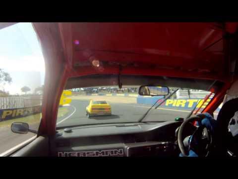 Jordan Cox vs Leigh Forrest - Civic vs Celica - Improved Production Bathurst 2017 Race 2