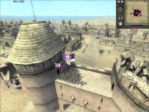 Medieval II Total War Online Battle #71: Two vs Three (Siege