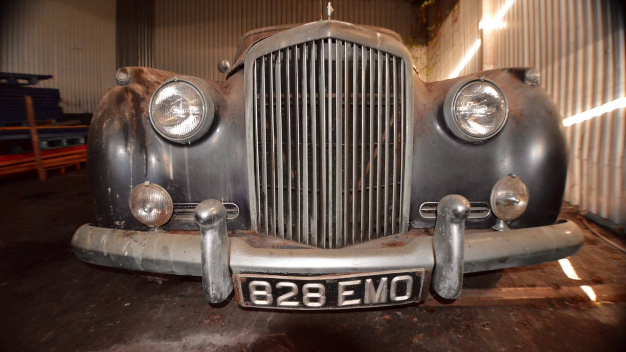 Classic British Bentley S1 Barn Find With Mikeedgecouk
