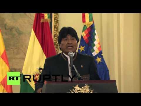 Bolivia: Morales hails UN decision to hear Pacific Ocean dispute case