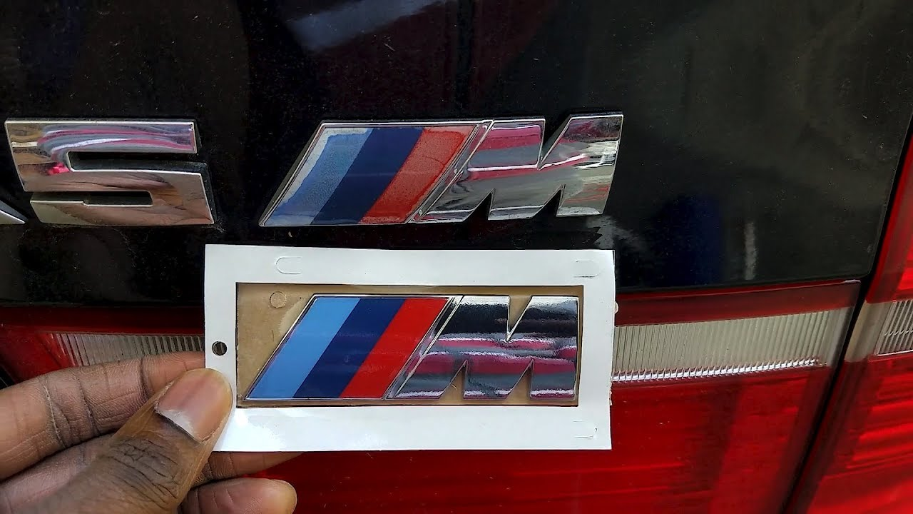 How To Easily Remove And Replace Emblem On Car