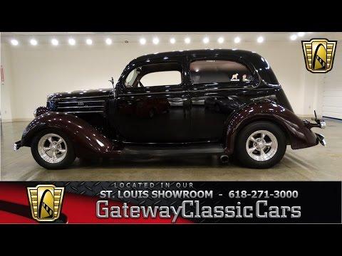 1936 Ford Slantback - Gateway Classic Cars St. Louis - #6430