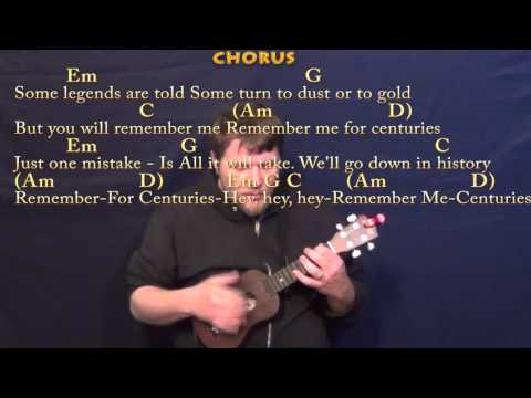 Centuries (Fall Out Boy) Ukulele Cover Lesson with Chords/Lyrics ...