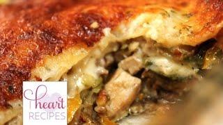 Chicken Lasagna Recipe - I Heart Recipes